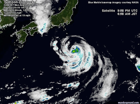 #Typhoon #Lionrock Targets #Fukushima #Daiichi | Messenger for mother Earth | Scoop.it