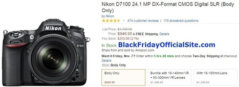 Best Online Black Friday Camera Deals 2014 | Great Coupons and Deals | Scoop.it