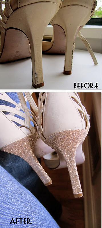 Arregla el tacón de tus sandalias con escarcha | Il Merletto - Signature | Taller Artesanal Moxi | Scoop.it