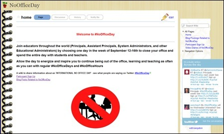 Featured Wiki: No Office Day | Sharing Technology for Teachers | Scoop.it
