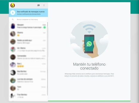 Así es WhatsApp web para ordenador | Searching & sharing | Scoop.it