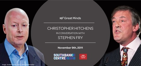 Christopher Hitchens in conversation via satellite with Stephen Fry | Modern Atheism | Scoop.it