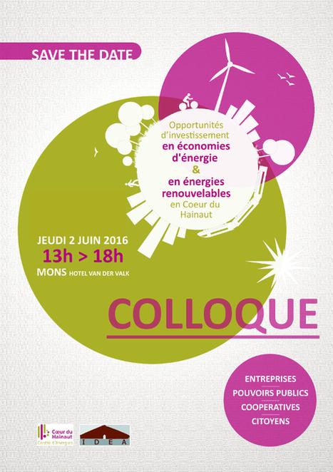 OPPORTUNITÉS D'INVESTISSEMENTS EN ECONOMIES D'ENERGIE & ENERGIES RENOUVELABLES - le 2 juin à Mons | Agenda HAINAUT DEVELOPPEMENT | Scoop.it