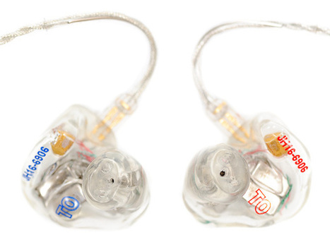 Review: JH Audio JH16 Pro Custom In-Ear Monitors - Audio, other - ishootshows.com | Audiophile | Scoop.it