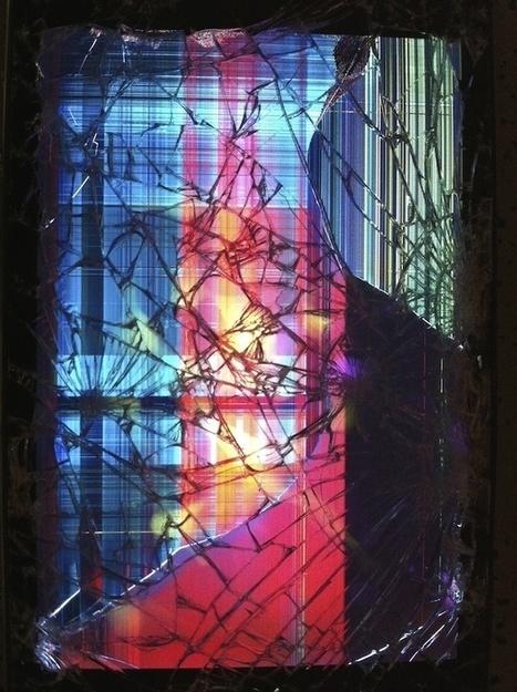 La sérendipité subtile des écrans brisés | The Creators Project | Life in Progress | Scoop.it