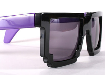 If It's Hip, It's Here: Pixelated Eyewear From Samal Design | #Design | Scoop.it