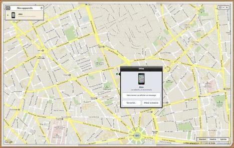 Activer et utiliser le service Localiser mon iPhone | Vie pratique | Scoop.it