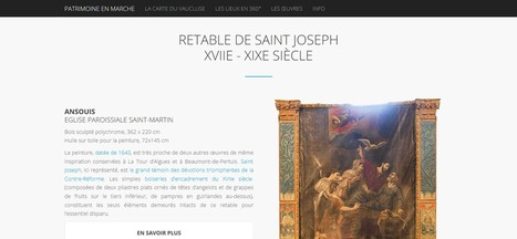 Clic France / Avec une application mobile et des QR codes, le département du Vaucluse ouvre les portes de son patrimoine rural | UseNum - Culture | Scoop.it