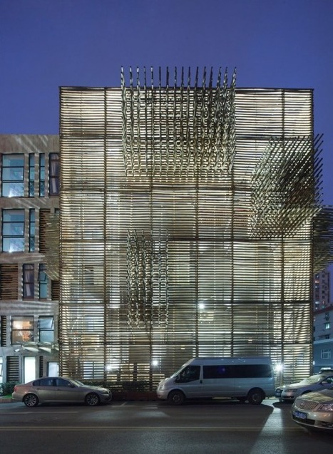 [Shanghai, China] Red Wall / 3Gatti Architecture Studio | The Architecture of the City | Scoop.it