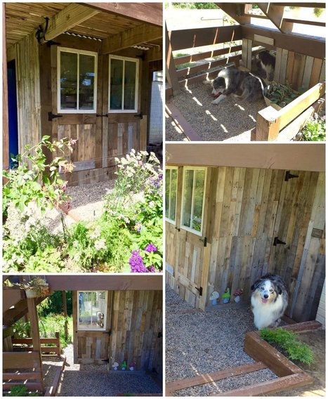 Potting Shed Makeover With Recycled Pallets • 1001 Pallets | Upcycled Objects | Scoop.it