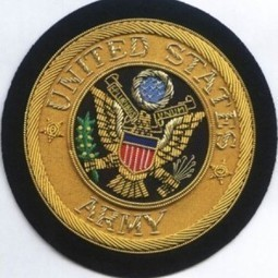 United states Army Bullion wire Blazer Badge | Blazer Badges | Scoop.it