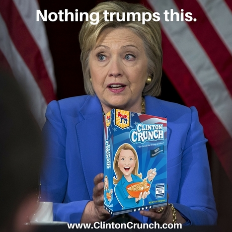 Hillary Clinton Cereal - Clinton Crunch | ferelrew | Scoop.it