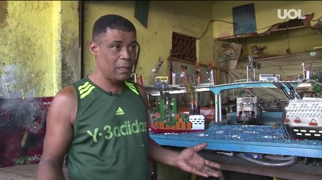 Com lixo reciclado, artesão constrói Rio em miniatura em garagem de favela | RL | Scoop.it