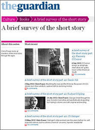 BluePrintReview book+lit blog: A brief survey of the short story - a ... | AdLit | Scoop.it