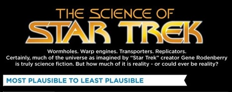 The Science of Star Trek (Infographic) | Post-Sapiens, les êtres technologiques | Scoop.it