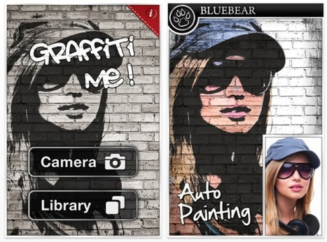 Graffiti Me! - iOS Photography App - Temporarily Free - TheAppWhisperer | photography | Scoop.it