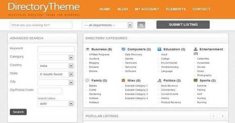 15 Most Selling Best WordPress Directory Themes 2014 | WordPress Themes | Scoop.it