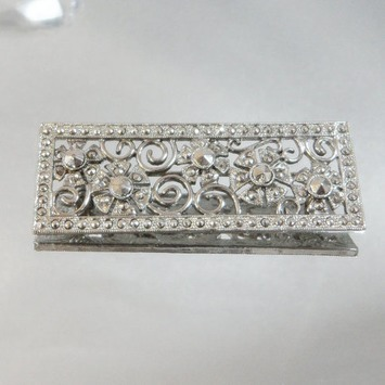 Victorian Revival Vintage Brooch Bar. Silver. Simulated Marcasite | Antiques & Vintage Collectibles | Scoop.it