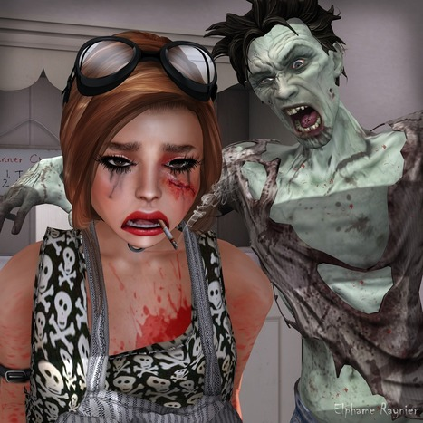 Shake N'Pop: Your Zombie Heart | Shake N'Pop Second Life Fashion Blog | Scoop.it