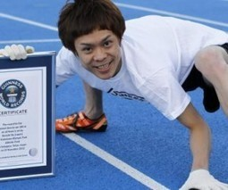 Un japonais bat le record de course à quatre pattes... | Mais n'importe quoi ! | Scoop.it