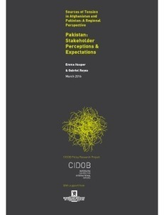 CIDOB - Pakistan: Stakeholder Perceptions & Expectations   Perdidos en el Ciberdespacio   Scoop.it