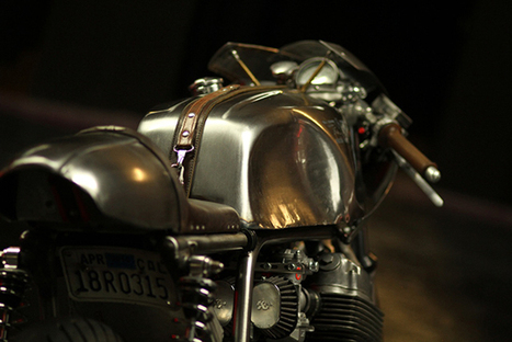76′ Honda CB750 by Raccia Motorcycles | Cafe Racers | Scoop.it