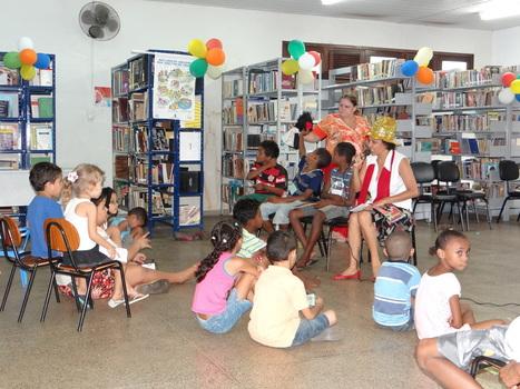 Contadores de história estimulam o acesso à leitura em Bibliotecas | Português | Scoop.it