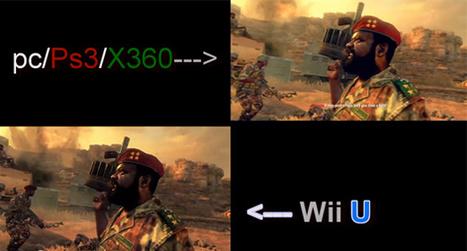 Call of Duty Black Ops 2 – Wii U VS PS3 Graphics Comparison | iRupax | Scoop.it