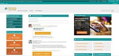 Le partage de connaissances au coeur du nouveau RSE de Crédit Agricole Assurances - Madmagz Com'In | Réseau social entreprise | Scoop.it
