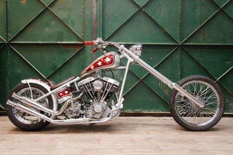 Kustom Store Motorcycles: Atelier KS: le Chopper de Christian | Kustom Store Motorcycles | Scoop.it