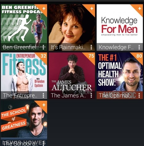 7 Podcasts on Optimizing Health and Entrepreneurship that I Tune-In to   EmpoweringPeople   Scoop.it
