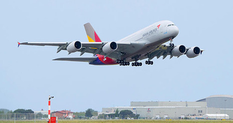 Asiana Airlines gets its first Airbus A380 - Aerospace Manufacturing and Design | Airbus A380 | Scoop.it