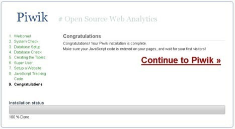 Use open-source Piwik in place of Google Analytics | Anti-Cloud | Scoop.it