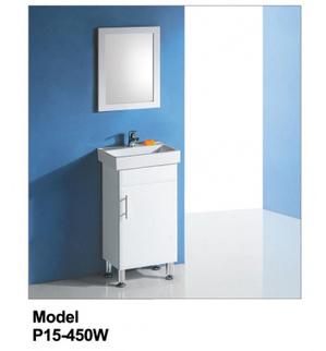 Rossto Vanities - Buy Solid Door Vanity P15-450W P15-450W at $197.00 Online | Custom Made Kitchens Renovation & Designs | Scoop.it