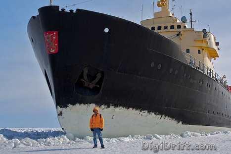 Sampo Icebreaker Tour - A Unique and Memorable Day in Kemi Finland   Finland   Scoop.it