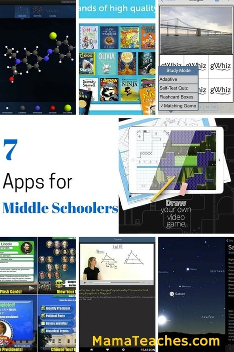 Tech Tuesday: 7 Must-Have Apps for Middle Schoolers - Mama Teaches | Edtech PK-12 | Scoop.it