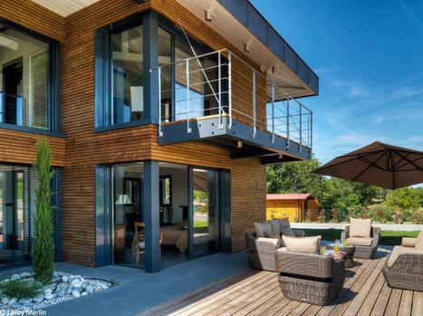 Gros plan sur le bardage et ses effets déco | Conseil construction de maison | Scoop.it