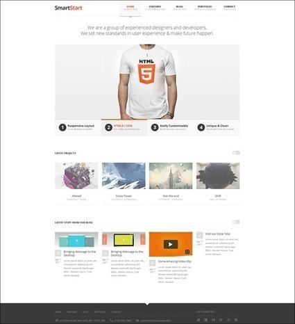 30+ High Performing HTML5 Templates for Web Design | Basics and principles for a good  Web Design | Scoop.it