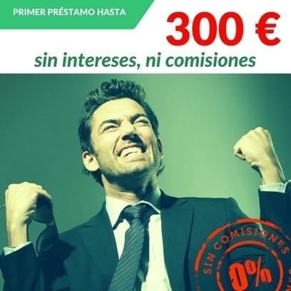 Creditomas, Primer Préstamo De 300 Euros Sin Intereses Ni Comisiones | Préstamos Personales | Scoop.it