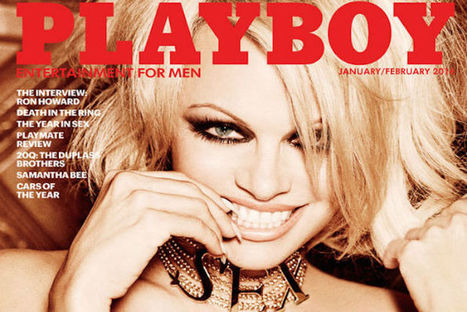 Pamela Anderson asked permission from her sons to appear in the last pornographic 'Playboy.' | Deranged News | Scoop.it