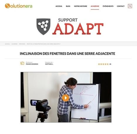 Académie ADAPT - Concevoir son habitation du futur | Nouveaux paradigmes | Scoop.it