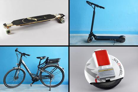 Solowheel, longboard, trottinette ou vélo électriques : la mobilité urbaine facilitée ? | Ressources pour la Technologie au College | Scoop.it