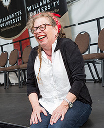 Cartoonist Lynda Barry welcomes students to Willamette University | Ladies Making Comics | Scoop.it