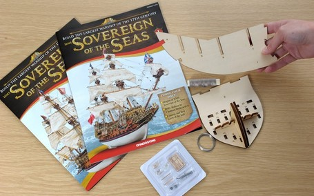 Enthusiasts will take longer to build Sovereign of the Seas replica than original shipwrights in 1637 | Quite Interesting News | Scoop.it