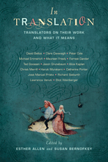 OnFiction: In Translation: Translators on Their Work and What It Means -- A Review   Traduzione   Scoop.it