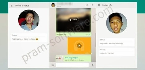 Cara Menginstall dan Menggunakan Whatsapp for PC Tanpa Emulator - Pram Software | Tutorial | Scoop.it