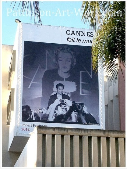 """One Year Later: """"Rob appears on the Walls of Cannes during the Festival"""" & a Game-Changing Role   A Cosmopolis Film Blog   'Cosmopolis' - 'Maps to the Stars'   Scoop.it"""