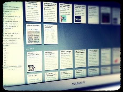 Evernote: structurez vos notes en les liant les unes aux autres | François MAGNAN  Formateur Consultant | Scoop.it