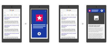 Mobile : l'abus de certaines pubs interstitielles dans le viseur de Google | Référencement | Scoop.it