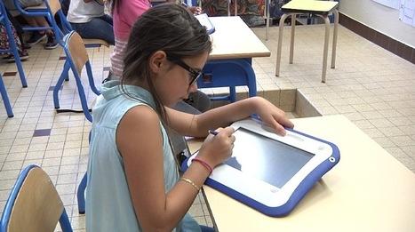 """Numérique à l'école : où en sont les """"cyber-classes"""" ?   Must Read articles: Apps and eBooks for kids   Scoop.it"""